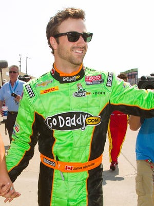 James Hinchcliffe replaced Danica Patrick in the GoDaddy car for Andretti Autosports in 2012.