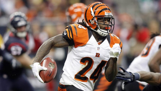 "Adam ""Pacman"" Jones is the Bengals' nickelback but also serves as a return man on special teams."