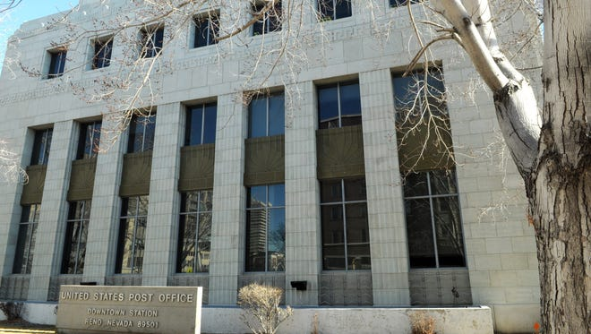 Reno developers are planning to turn the three-story art deco post office into a high-end retail center. They bought the post office last summer.