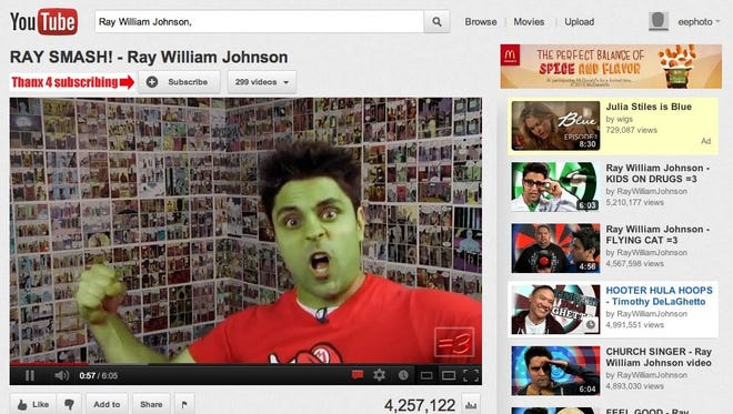 A screenshot of YouTube.