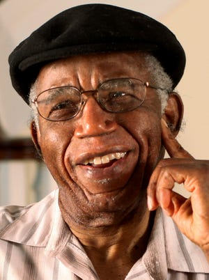 Chinua Achebe photographed at his home in Warwick, R.I. Achebe, an internationally celebrated Nigerian author, statesman and dissident, has died at age 82.