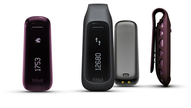 Fitbit One is a sleep-tracking device you clip to your clothes during the day.