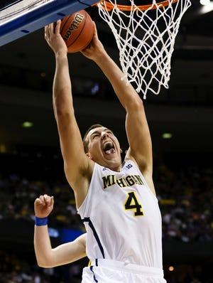 Mitch McGary scored a game-high 21 points on 10 of 11 shooting.