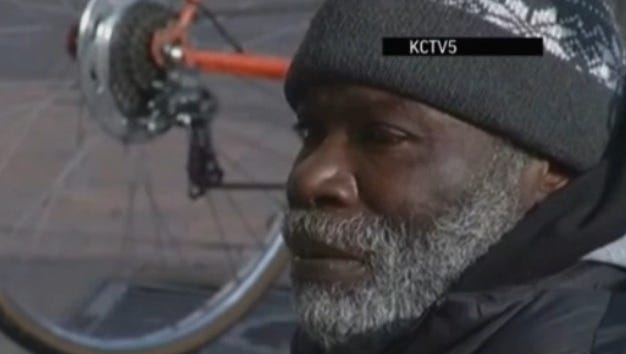 Billy Ray Harris frequently panhandled on Kansas City's Country Club Plaza.