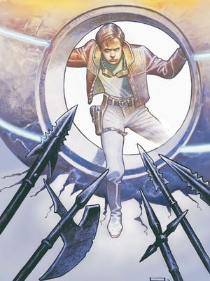Damon Lindelof and Jeff Lemire team for a Rip Hunter tale in the anthology 'Time Warp.'
