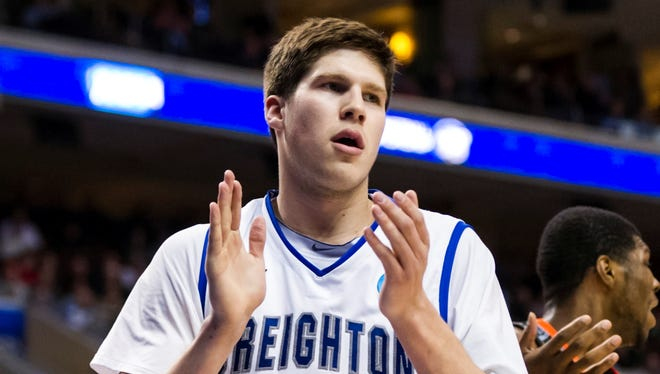 Creighton forward Doug McDermott put up 27 points, including a perfect 11-11 from the line, and 11 rebounds to lead the Bluejays to a 67-63 win over Cincinnati in the second round.