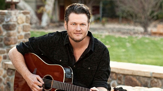 Blake Shelton will release a new album Tuesday  entitled 'Based on a True Story....'