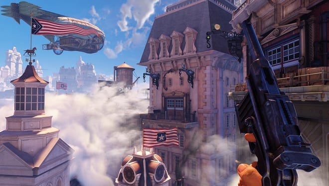 A screenshot from the video game 'BioShock Infinite'.