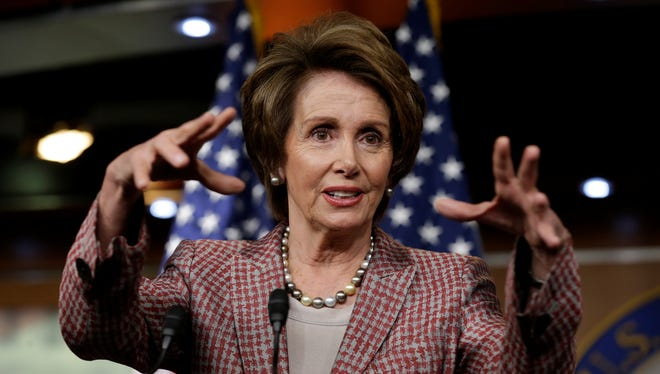 House Minority Leader Nancy Pelosi, D-Calif