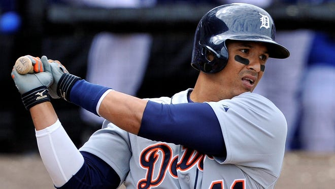 Victor Martinez returns to a potent Tigers offense behind MVP Miguel Cabrera and Prince Fielder.