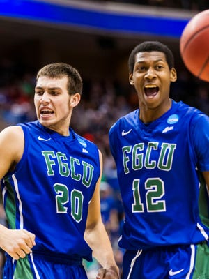 NCAA tournament Cinderella FGCU takes on in-state foe Florida in the Sweet 16 on Friday.
