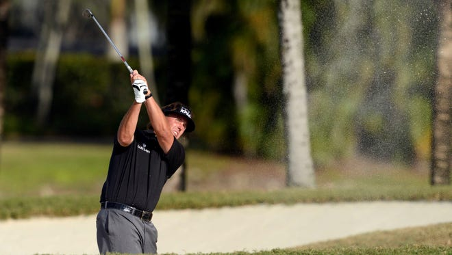 Phil Mickelson is in the field this week at the Shell Houston Open.