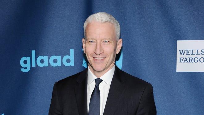 CNN news anchor Anderson Cooper