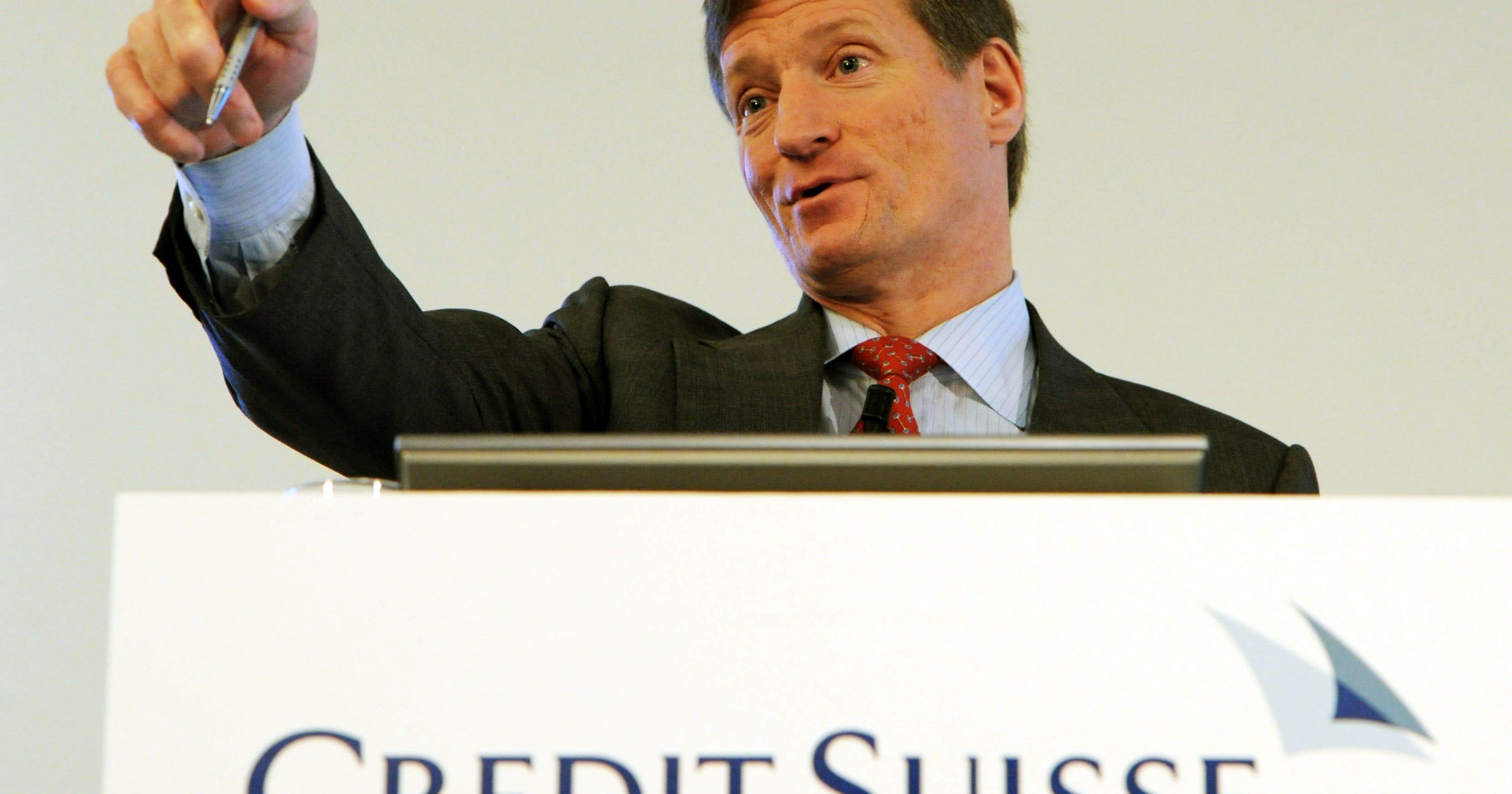 Credit Suisse buys Morgan Stanley wealth unit