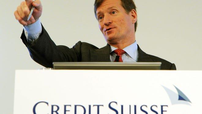 Credit Suisse CEO Brady Dougan.