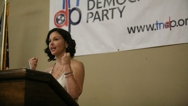 Actress Ashley Judd was considering running for the Senate in Kentucky, where she was raised and went to college.
