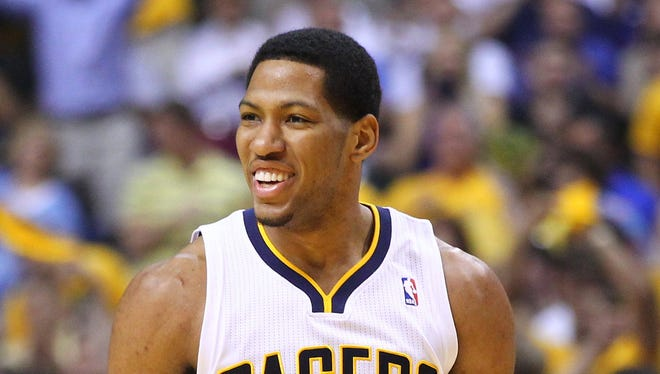 Indiana Pacers small forward Danny Granger (33) is expected to play as the Pacers head out on a four-game road trip.