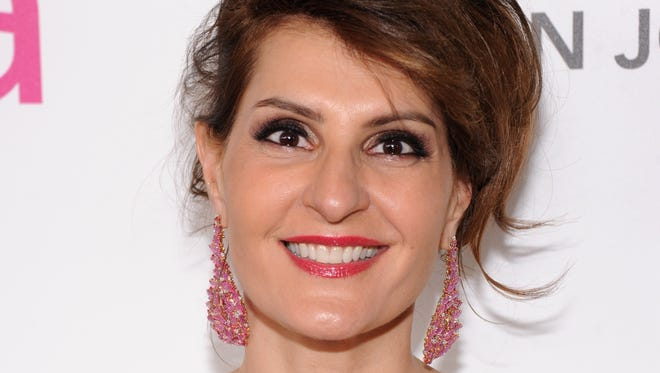 Actress Nia Vardalos attends the 21st Annual Elton John AIDS Foundation Academy Awards Viewing Party at Pacific Design Center on February 24, 2013 in West Hollywood, California.  (Photo by Jamie McCarthy/Getty Images for EJAF)