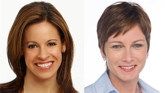 Jenna Wolfe and Stephanie Gosk are expecting a baby girl this summer.