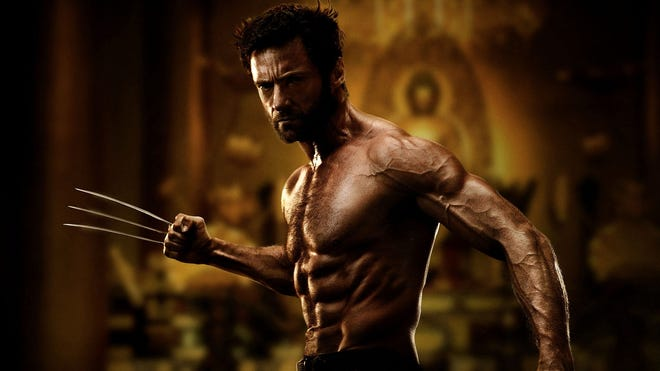 "Hugh Jackman reprises his role as a clawed, troubled superhero in ""The Wolverine."""