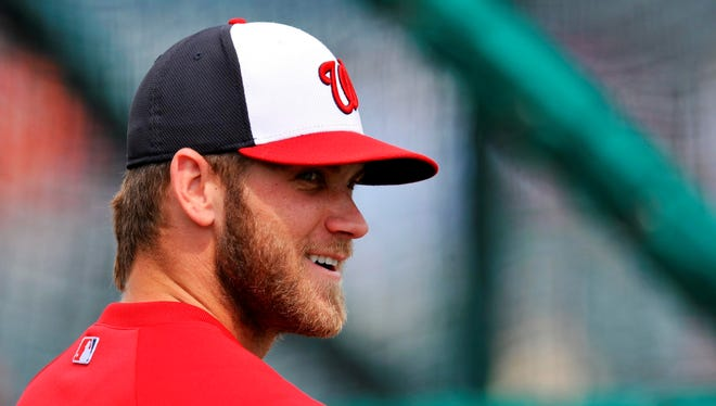 The Nationals are expecting big things from Bryce Harper in his second season.