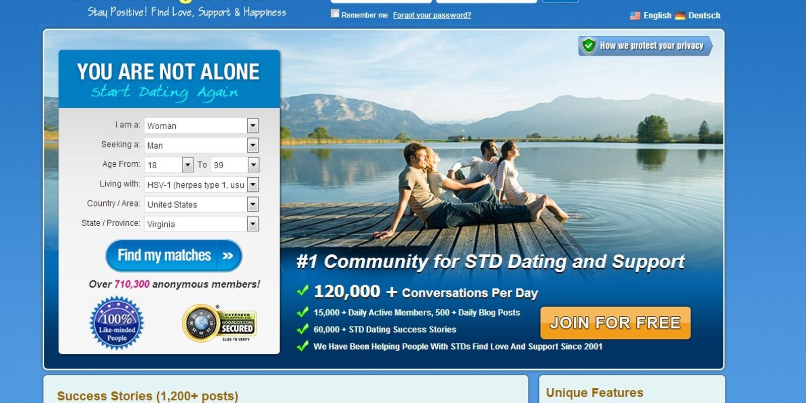 gratis hiv positive dating sites