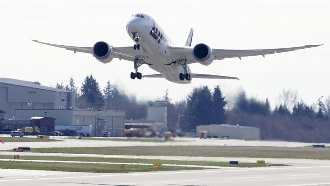 Boeing has begun installation of the redesigned battery system on 10 of the jets that were in the hands of airlines, and nine jets in production