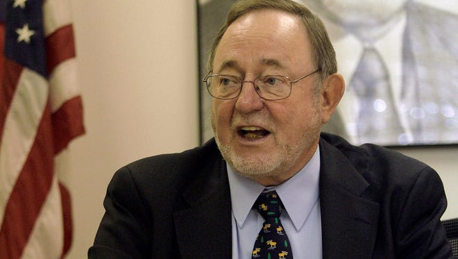 Rep. Don Young (R-Alaska)  is shown in his Anchorage office in 2007.