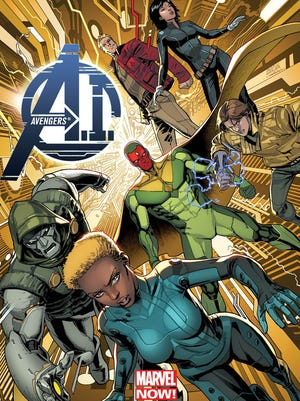 "A new group of humans and androids come together to face a new status quo in society in ""Avengers A.I."""