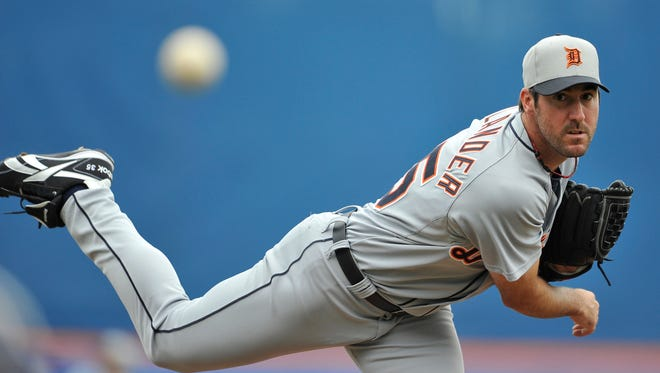 Justin Verlander leads a solid rotation for the Tigers — four of five starters had a sub-3.00 ERA through the weekend.