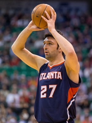 Zaza Pachulia is an unrestricted free agent this summer and may have played his last game for the Hawks.