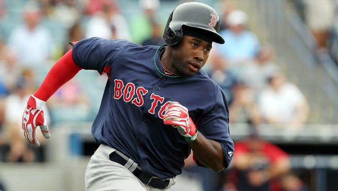Rookie Jackie Bradley Jr. wowed the Red Sox in training camp, and he'll make the Opening Day lineup as a result.