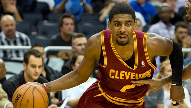 Cavaliers guard Kyrie Irving, shown Feb. 23, has struggled with various injuries all season.