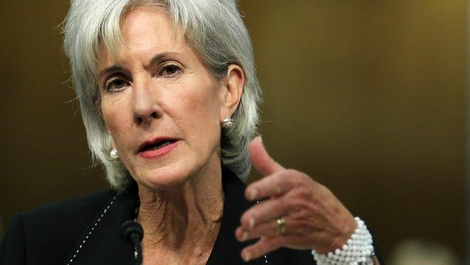 U.S. Secretary of Health and Human Services Kathleen Sebelius
