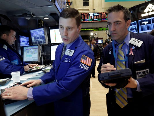 Stocks fail to follow through on record close