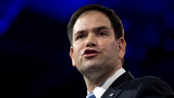 Sen. Marco Rubio, R-Fla., is leading a group of senators who want the GAO to settle a dispute over the calculation of fishing stocks in the Gulf of Mexico and South Atlantic.
