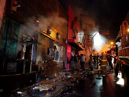Prosecutors file murder charges in Brazil fire