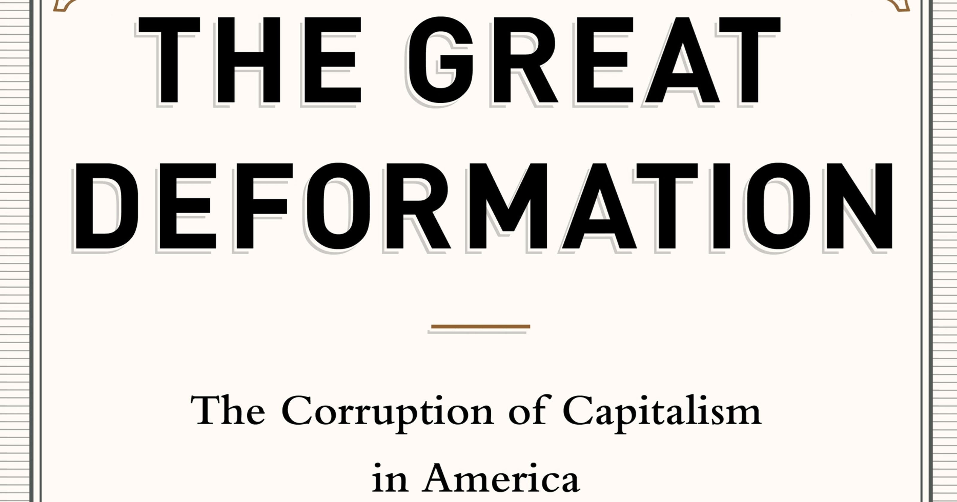 Review: Washington's corruption of capitalism