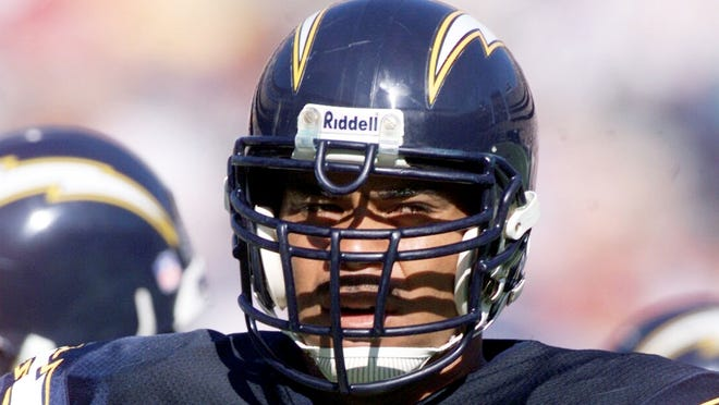 Junior Seau spent most of his NFL career with the San Diego Chargers