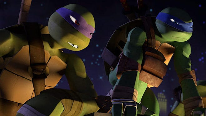 "Donatello and Leonardo are on the case in an episode of the new ""Teenage Mutant Ninja Turtles"" animated series."
