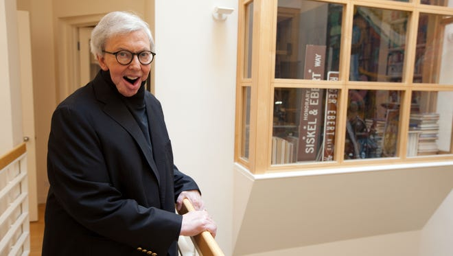 Roger Ebert died Thursday in Chicago. He was 70.