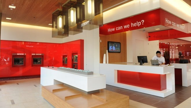 Bank of America has spent the last year remodeling its branches. Tellers are no longer at the forefront, lounge areas will feature iPads,  and conference rooms are set for meetings with financial specialists.
