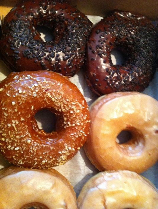 10 great places: Don't glaze over doughnuts