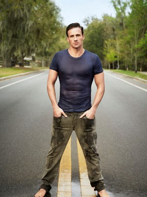 """Olympic swimmer Ryan Lochte poses in a promotional photo for his show, """"What Would Ryan Lochte Do?"""""""