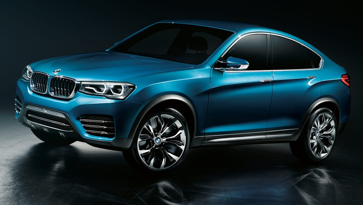 BMW reveals new X4 crossover SUV