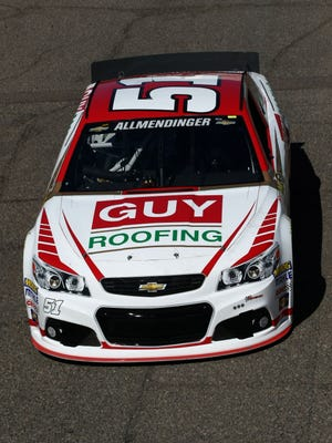 A.J. Allmendinger has posted finishes of 11th, 13th and 16th in James Finch's underfunded No. 51 Chevrolet.