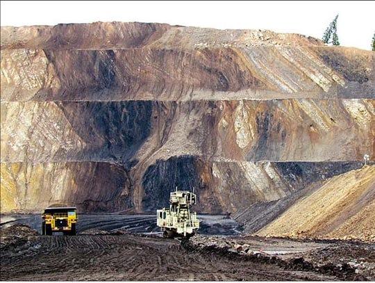 Phosphate  mine