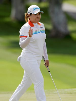 Inbee Park of South Korea shot a 5-under 67 Friday to take the 36-hole lead.