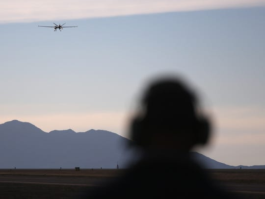 Drone shows half of illegal border crossers caught