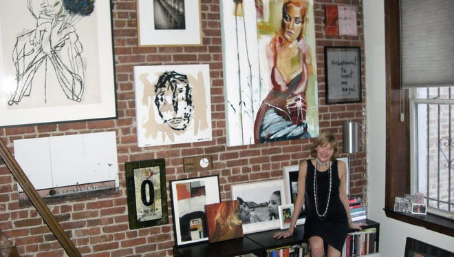 Consultant Sharon Reaves still tries to keep to a price point of no more than $1,000 when buying art for her collection.